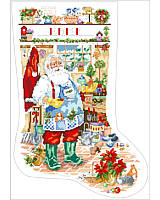 Hang this classic Santa Gardening stocking by your chimney with care as a festive accent, then fill it with gardening gifts and surprises for a merry Christmas morning.