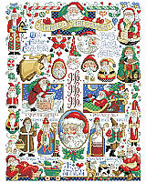 Whether you call him Kris Kringle or père Noël, Santa is beloved all over the world.