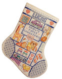 Baby Boy's First Christmas Stocking: Baby Boy's First Christmas Stocking