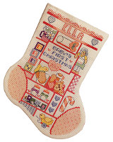 Baby Girl's First Stocking
