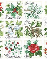 Christmas Botanical Ornaments