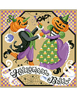 Halloween Ball by Sandy Orton is a fun and lively design depicting our favorite October Holiday