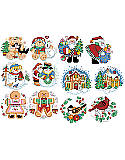 Holiday Favorites Ornaments - Chart