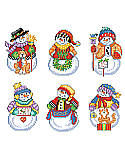 Snow Folks Ornaments - PDF: BRING MORE LOVE, JOY AND PEACE TO FAMILY AND FRIENDS TOO NICE TO FORGET! Like friends, these ornaments will add a touch of warmth to your heart, whimsy to your smile and peace to your soul.