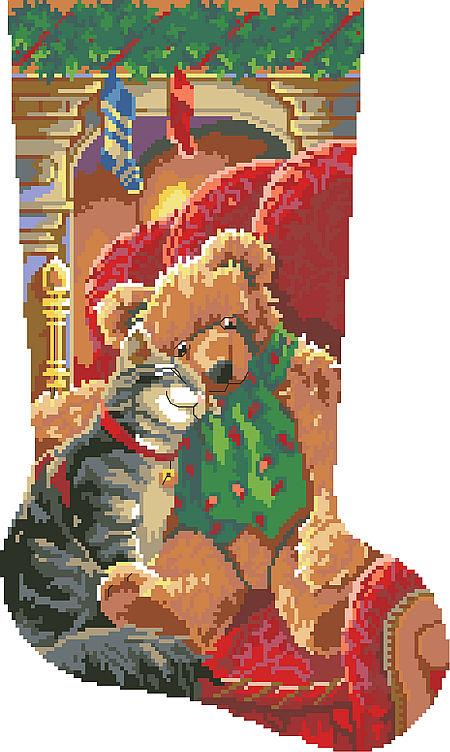 Cross Stitch Christmas Stockings Kits