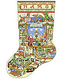 Crafter's Corner Christmas Stocking Chart