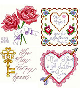 Collection of 12 Love designs