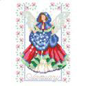 Birthday Faeries January -  PDF: January birthdays are celebrated with this Fairy holding a bag full of snowflakes.