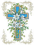 Lilies of the Cross - PDF: This beautifully decorated cross features a delicate lily design and will adorn your home with a sign of your long-lasting faith and inspiration. Give this thoughtful gift for birthdays, religious occasions or just because you want to share the gift of love.