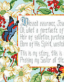 Blessed Assurance - PDF: One of our Best Loved Hymns designs, Blessed Assurance, is a beloved and well known gospel song. This classic American gospel song was written by blind poetess Fanny Crosby over  100 years ago and is still dear to our hearts today.