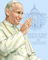 His Holiness John Paul II - Karol Jozef Wojtyla - May 8, 1920 to April 3, 2005.