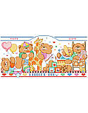 Bouncing Baby Bears Birth Record - PDF: Show your baby bear just how much you care with the cheerful, personalized wall art that is sure to brighten the nursery.