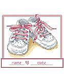 Baby Girl Shoes - Chart