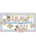 "Welcome Baby Animals Birth Record - PDF: Beavers and bears and raccoons, oh my! Sweet baby animals adorn this ""Welcome Baby"" sign perfectly suited to celebrate a little one's arrival. Personalize for an adorable gift for any new mom to brighten a nursery."