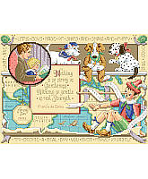 This For My Son Counted Cross Stitch sampler design is from Sandy Orton for Kooler Design Studio.