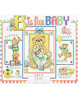 'B' For Baby's Birth Announcement! 'B'eloved 'B'aby wears 'B'ooties; chases 'B'unnies; plays with 'B'alloons; 'B'locks and 'B'ears; and 'B'ears take a 'B'ath of 'B'ubbles.