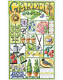 "Garden Sampler - PDF: ""I'd rather roses on my table than diamonds on my neck."""