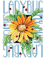 Ladybugs is an exquisite counted cross-stitch design with fine detail and realistic shading that captures the beauty of life.