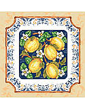 Italian Lemons - PDF: When life gives you lemons make limoncello! This gorgeous and rustic design is based on Italian pottery from Cinque Terre, which is famous for lemons. This classic design has old-world appeal yet is right at home in modern kitchens. Le dolce vita!