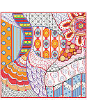 Dazzling Doodles Freeform - PDF: Why should coloring book fans have all the fun?  