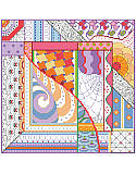 Dazzling Doodles Squares  - PDF: Why should coloring book fans have all the fun?  