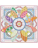 Dazzling Doodles Mandala - PDF: Why should coloring book fans have all the fun?  