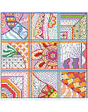 Dazzling Doodles Sampler - PDF: Why should coloring book fans have all the fun?  