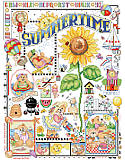 Summer Daze Sampler - PDF: Spring into summer fun! With this sampler featuring adorable bears playing outdoors. From blowing bubbles to making sandcastles at the beach, these cuties are sure to put a smile on your face!