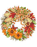 A Wreath For Fall - PDF