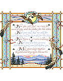 Apache Wedding Blessing - PDF: This wedding blessing offers the plainly spoken, yet provocative, caring insight of life together. Wise in the ways of life, love and heritage, this blessing will certainly be admired by newlyweds.