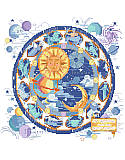 Celestial Sampler - PDF: Sun, Moon, Zodiac -- Signs of all that is right in your world of astrology.